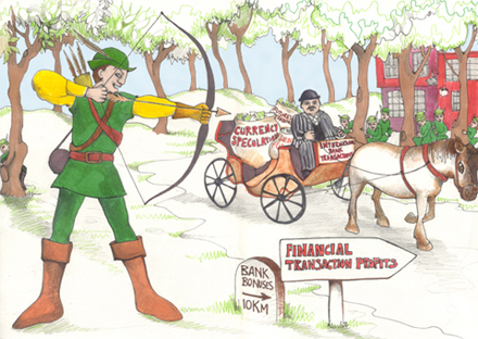 Robin Hood Tax by Abigail Daker