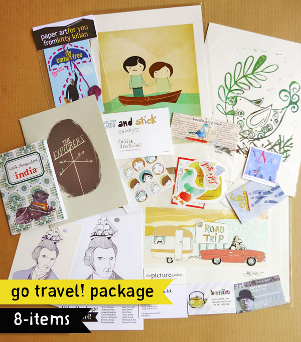 The Go Travel! PikaPackage loot!