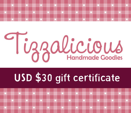 Tizzalicious gift certificate