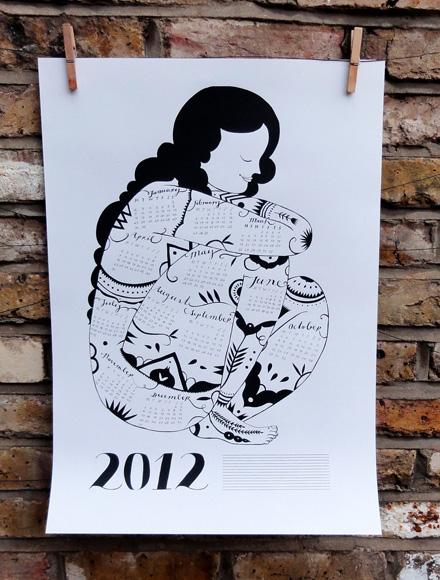 Karolin Schnoor 2012 Calendar