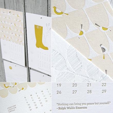 Ink + Wit 2012 Calendar