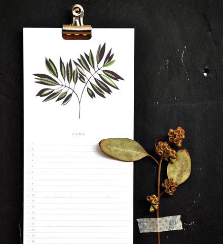 Amy Marcella 2012 calendar