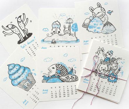 Bel Chen 2012 calendar