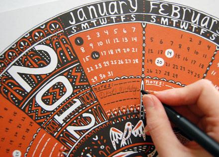 Caitlin Keegan 2012 calendar