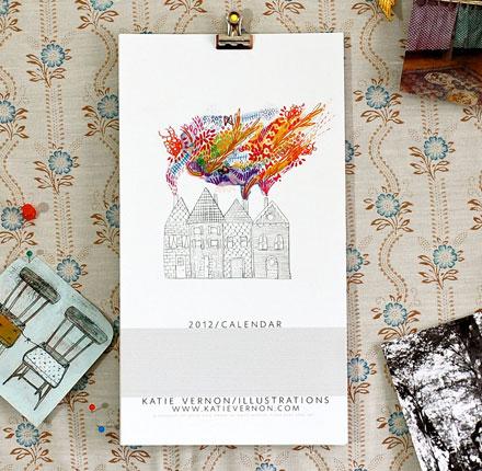 Katie Vernon 2012 calendar