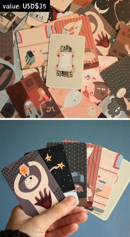Cardstories giveaway