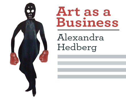 Art as Business by Alexandra Hedberg