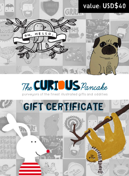 The Curious Pancake gift certificate
