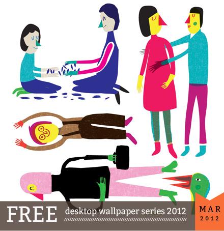 Judy Kauffman desktop calendar 2012