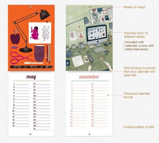 Pikaland wall calendar 2013: inside pages!