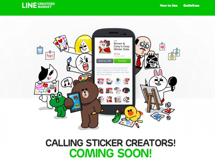 LINE Creator's Market