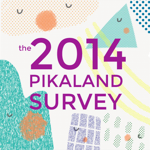Enter the 2014 Pikaland survey!