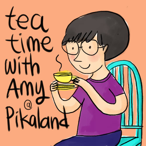 Tea time with me in Singapore!