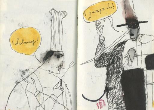 Javier Zabala, Travel Books 1