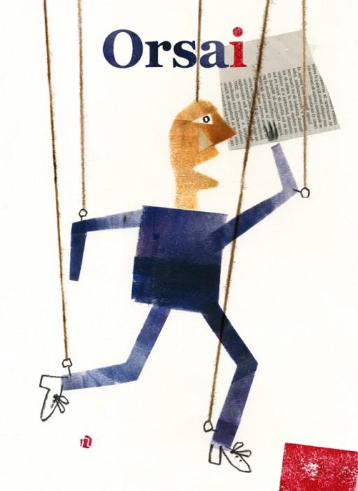 ORSAI MAGAZINE COVER, Javier Zabala, 2013