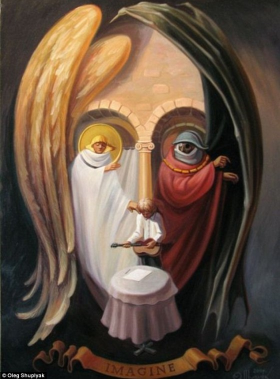 6-oleg-shuplyak-illusion-painting-beatles-john-lennon