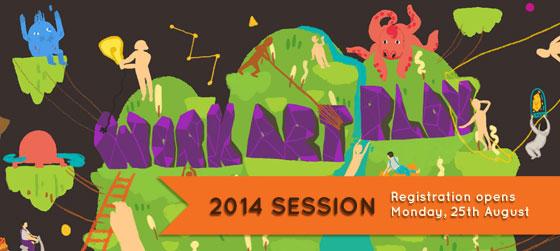 Work/Art/Play's 2014 enrollment is open!